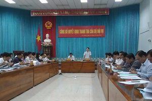 An Giang: 34 công chức lãnh đạo chưa đáp ứng đầy đủ điều kiện, tiêu chuẩn