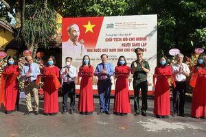 Trưng bày 'Chủ tịch Hồ Chí Minh - người sáng lập Nhà nước Việt Nam Dân chủ Cộng hòa'