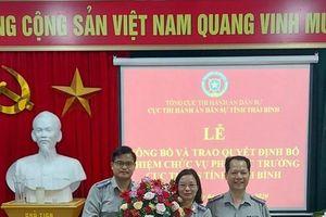 Thái Bình: Bổ nhiệm Phó cục trưởng Cục THADS