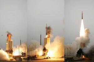 Israel hợp tác với Mỹ thử thành công rào chắn tên lửa đạn đạo