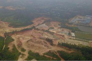 Đề nghị kiểm tra, xử lý toàn diện việc 'cạo trọc đầu' núi Đinh ở Vĩnh Phúc