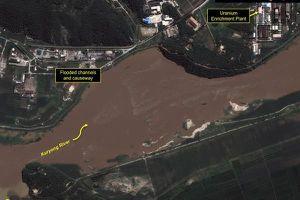 Lũ lụt đe dọa cơ sở hạt nhân Yongbyon của Triều Tiên