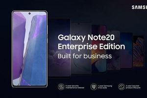 Samsung Galaxy Note20, Galaxy Tab S7 phiên bản doanh nghiệp được công bố