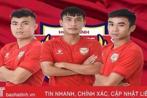 3 cầu thủ Hồng Lĩnh Hà Tĩnh được HLV Park gọi lên U22 Việt Nam