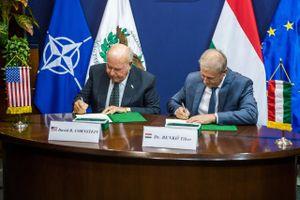 Hungary và Mỹ đạt thỏa thuận quân sự lịch sử trị giá 1 tỷ USD