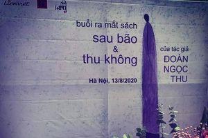 Nhà thơ Đoàn Ngọc Thu ra mắt hai tập thơ 'Sau bão' và 'Thu Không'