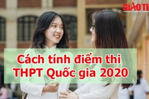 Cách tính điểm tốt nghiệp THPT 2020 chính xác nhất