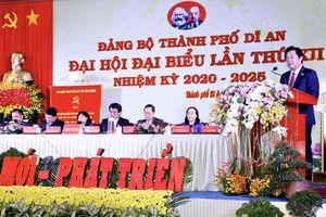 Đảng bộ TP Dĩ An tổ chức thành công Đại hội Đại biểu lần thứ XII