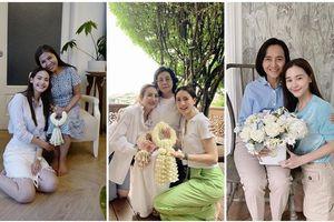 Loạt sao Thái đăng ảnh chúc mừng Ngày của Mẹ đầy tình cảm, có người giống mẹ như hai giọt nước!