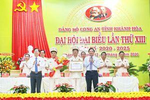 Đại hội Đảng bộ Công an tỉnh Khánh Hòa lần thứ XIII