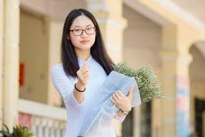 Nữ sinh xinh đẹp đỗ thủ khoa lớp 10 Hà Nội với hai điểm tuyệt đối, đúng chuẩn 'con nhà người ta'