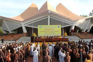 Học viện Phật giáo VN tại Huế tổ chức 2 đợt thi tuyển sinh