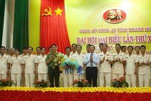 Đại hội Đảng bộ Công an tỉnh Khánh Hòa nhiệm kỳ 2020-2025