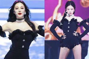 Trương Vũ Kỳ gây bão với body đỉnh trên 'Tỷ Tỷ Đạp Gió Rẽ Sóng', váy 'đụng hàng' Jennie