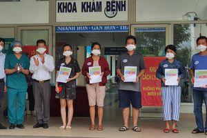 Công bố năm ca khỏi bệnh tại Trung tâm y tế huyện Hòa Vang