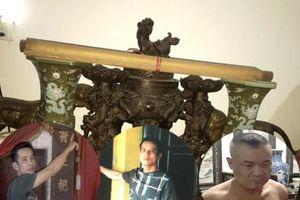 Bắt nhóm chuyên trộm đồ cổ trong đình, chùa