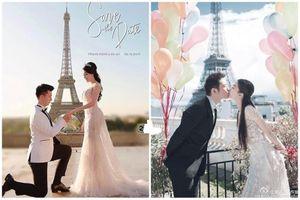 Chụp ảnh cưới tại Pháp: Âu Hà My ly hôn, đôi này cũng 'toang'