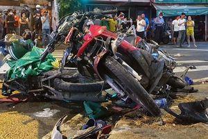 Nữ tài xế gây tai nạn liên hoàn khiến 6 người nhập viện khai gì với công an