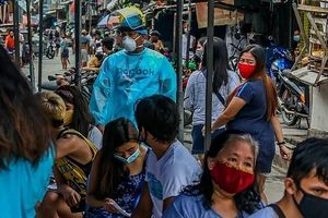 Philippines tiếp tục ghi nhận hơn 4.000 ca nhiễm Covid-19 mới