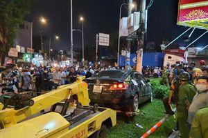 Nữ tài xế xe Camry tông 8 xe máy ở Sài Gòn khai do đạp nhầm chân ga