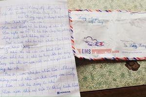 Xúc động lá thư tay con nhỏ gửi cha nơi tuyến đầu chống dịch