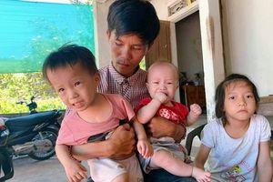 Cảnh ngặt nghèo của người cha xe ôm có nhiều con cần mổ tim gấp