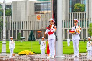 Lễ thượng cờ rủ Quốc tang nguyên Tổng bí thư Lê Khả Phiêu