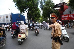 Đảm bảo an ninh, an toàn giao thông phục vụ Lễ viếng nguyên Tổng Bí thư Lê Khả Phiêu