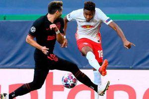 Atletico gục ngã trước Leipzig bởi đòn 'hồi mã thương' phút 88
