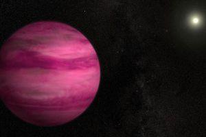 Hành tinh màu hồng kì lạ gần Trái đất