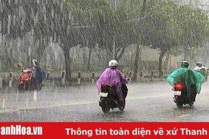 Thời tiết Thanh Hóa ngày 14-8: Có mưa rào và dông, nhiều nơi mưa to