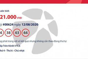 Kết quả xổ số Vietlott Mega 6/45 tối ngày 14/8/2020: Hé lộ người vừa trúng hơn 14 tỉ đồng?
