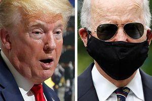 Trump, Biden tranh cãi kịch liệt việc có nên đeo khẩu trang chống lây COVID-19