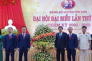Khai mạc Đại hội đại biểu Đảng bộ huyện Yên Sơn lần thứ XXIII