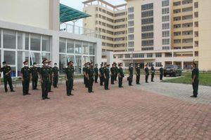 Bộ Chỉ huy Quân sự tỉnh Thừa Thiên - Huế: Tập huấn cán bộ khung điều hành cách ly