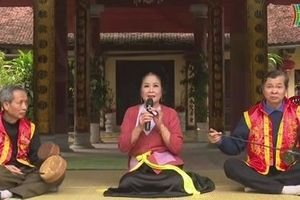 Văn hóa dân gian hồi sinh từ một ngôi làng