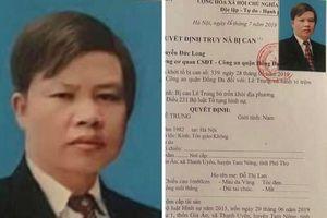 Truy nã đối tượng chuyên trộm cắp tài sản trong bệnh viện