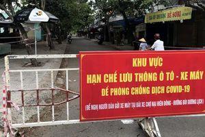 Mở cửa lại chợ Nại Hiên Đông