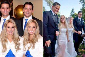 Cặp chị em song sinh cưới hai anh em sinh đôi và mang thai cùng lúc
