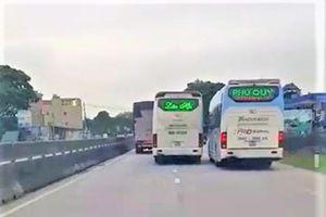 Để tài xế đánh võng chèn ép xe khách đi phía sau, chủ xe nói gì?