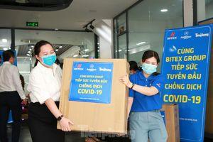 Tập đoàn BITEX và Báo Tiền Phong 'Tiếp sức tuyến đầu chống dịch'
