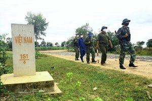 Cửa khẩu Phước Tân - Lá chắn ngăn chặn dịch bệnh thâm nhập qua biên giới