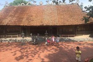 Nét đẹp làng cổ ven đê Thanh Cù