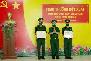 BĐBP Tây Ninh: Khen thưởng 3 tập thể và 24 cá nhân lập thành tích trong đấu tranh phòng chống ma túy và tội phạm