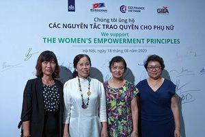 21 lãnh đạo doanh nghiệp ký tuyên bố ủng hộ nguyên tắc trao quyền cho phụ nữ