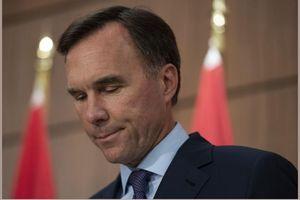 Bộ trưởng Tài chính Canada từ chức