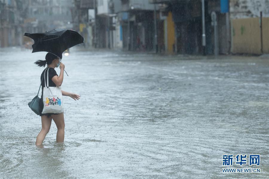 Bão Higos giật cấp 12 càn quét miền nam Trung Quốc