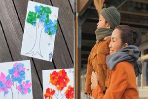 Hà Tăng khoe tác phẩm nghệ thuật của con trai