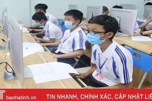 94 thí sinh tranh tài Hội thi Tin học trẻ tỉnh Hà Tĩnh lần thứ XXIII