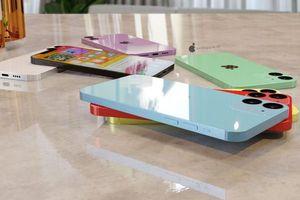 Tiếp tục lộ concept iPhone 12: Vẫn bo viền, thêm màu mới trẻ trung